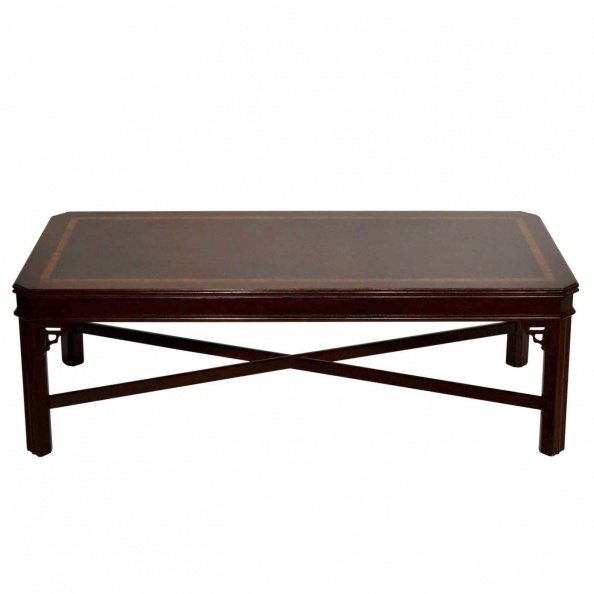 Table, Coffee- Chinese Chippendale, Mahogany