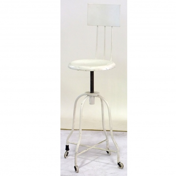 Stool, Exam- DR, High Back, Rectangle, PERIOD