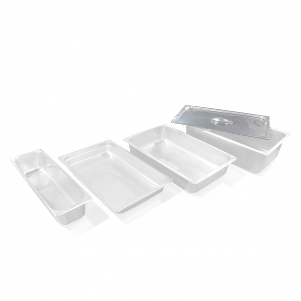 Lid, Food Pan- S-Steel, Buffet, Basin