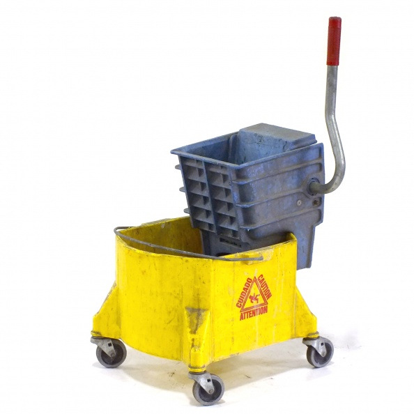 Bucket, Janitor- Yellow, Caution - Bucket Only
