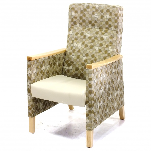 Chair, Patient- High Back, Maple