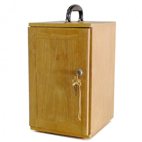 Box, Transport- For Microscope + Keys - PERIOD